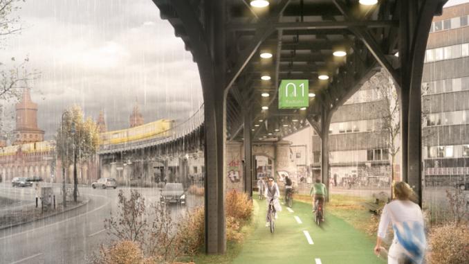 ciclobia en berlin radbahn
