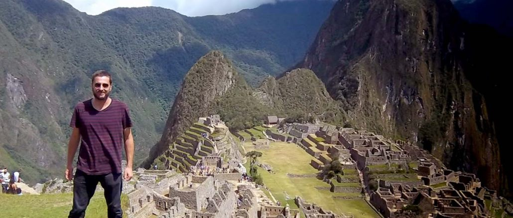 Chilenos Machu Picchu