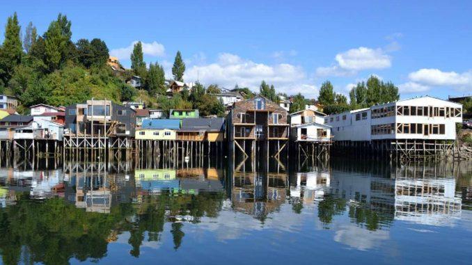 Nueva línea de alta tensión en Chiloé